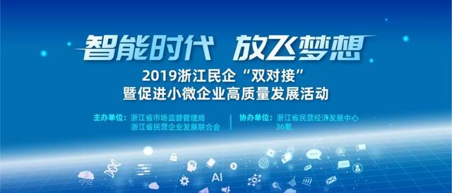 """2019浙江民企""""双对接""""暨促进小微企业高质量发展活动圆满结束"""